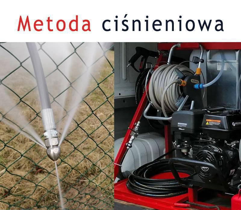 Ciśnieniowe udrażnianie kanalizacji Częstochowa